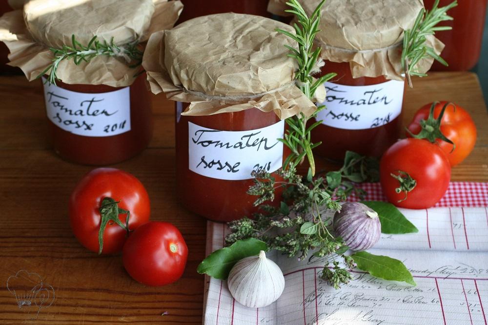 Tomatensoße – Sommer im Glas